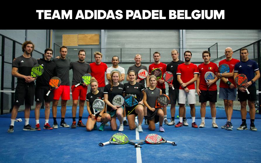 Team adidas padel Belgium