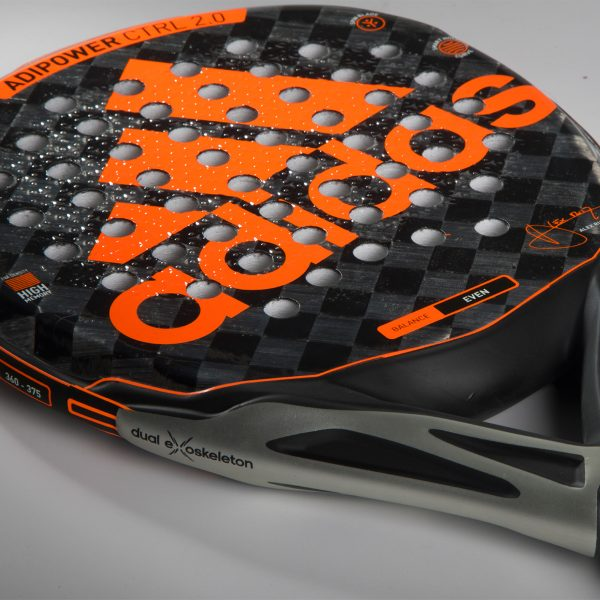 adipower control racket Alex Ruiz