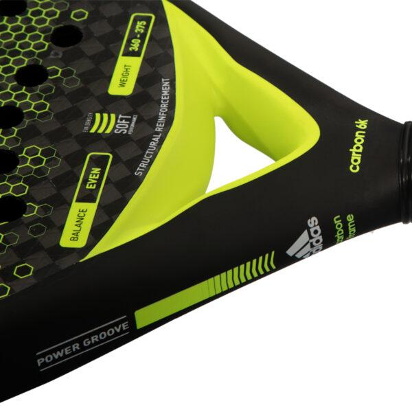 Carbon control racket