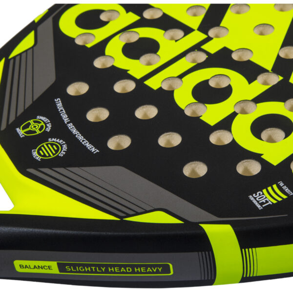 Match racket smart holes