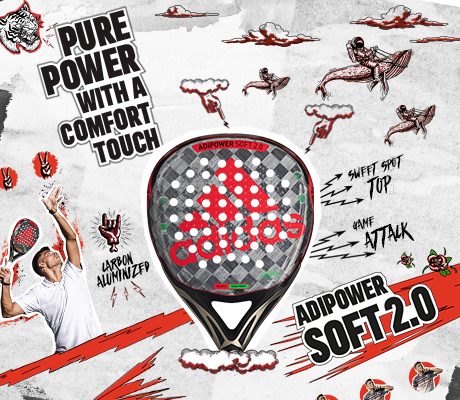 adipower range racket soft