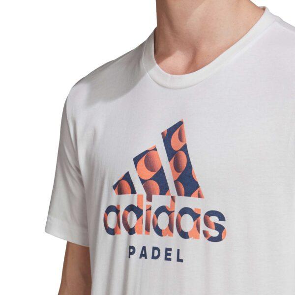 Logo t-shirt adidas padel