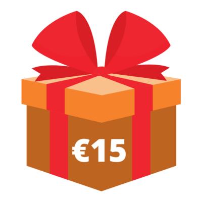 Cadeau 15euro