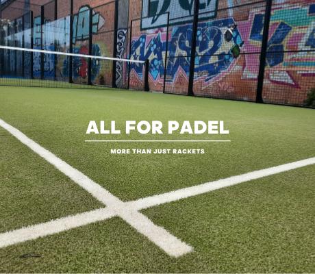 ALL FOR PADEL – mobiel